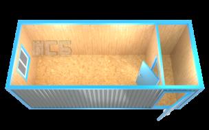 Блок-контейнер «БК-17»