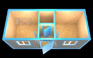 Блок-контейнер «БК-9»