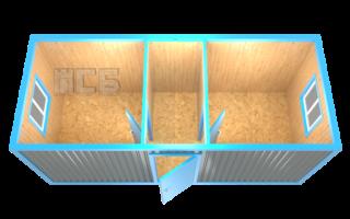 Блок-контейнер «БК-12»