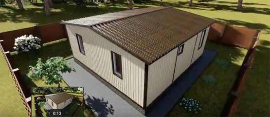 вариант модульного строительства жилья