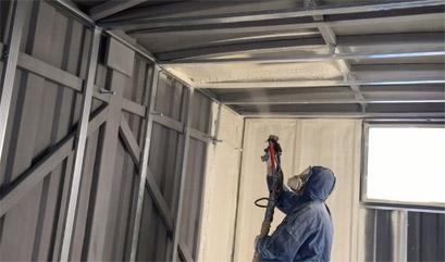 утепление модульного гаража