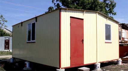 Металлический модульный дом