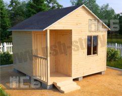 Садовый домик «С-3»