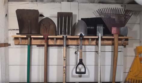 хранение лопат