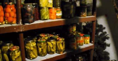 способ хранения овощей на даче