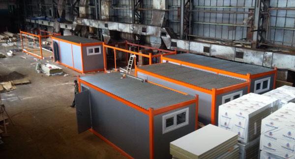 изготовление модульных зданий для торговли