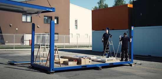 Обустройство строительной площадки блок-контейнерами