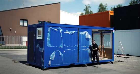 Временные сооружения блок-контейнеры