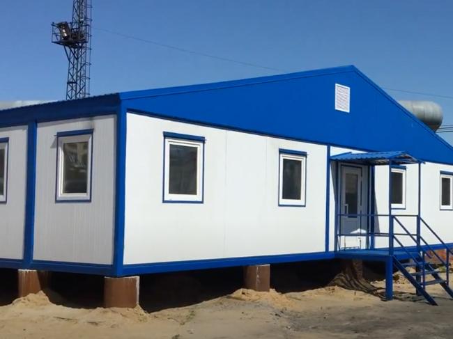 Модульные здания для бытовых нужд