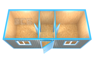 Блок-контейнер «БК-4»