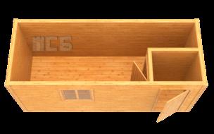 Бытовка деревянная «В-3»
