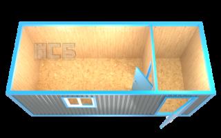 Блок-контейнер «БК-2А»