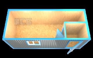 Блок-контейнер «БК-3А»