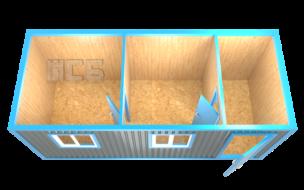 Блок-контейнер «БК-6»