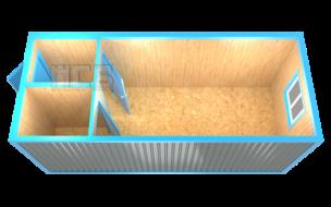 Блок-контейнер «БК-13»