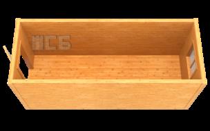Бытовка дачная деревянная «В-1А»