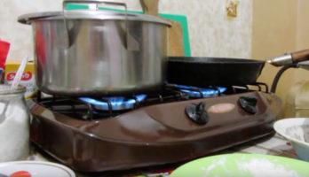 Газовая плита в бытовке — это супер