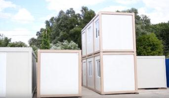 Постройки из блок-контейнеров
