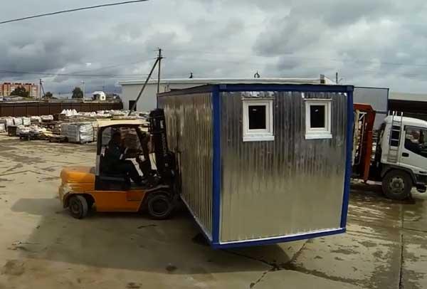Изготовление блок-контейнеров с коммуникациями