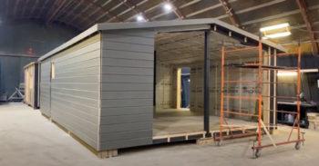Уютное гнездышко — модульный дом для постоянного проживания