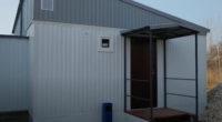 Модульный дом для постоянного проживания из блок-контейнера