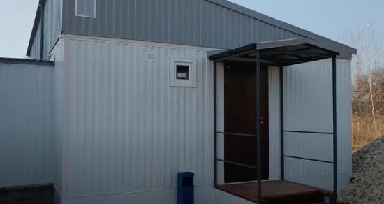 Модульный дом для постоянного проживания из блок контейнера