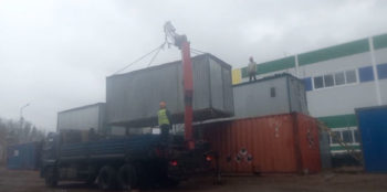 Строительство из блок-контейнеров