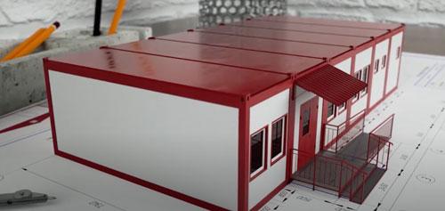 Современное строительство модульных зданий