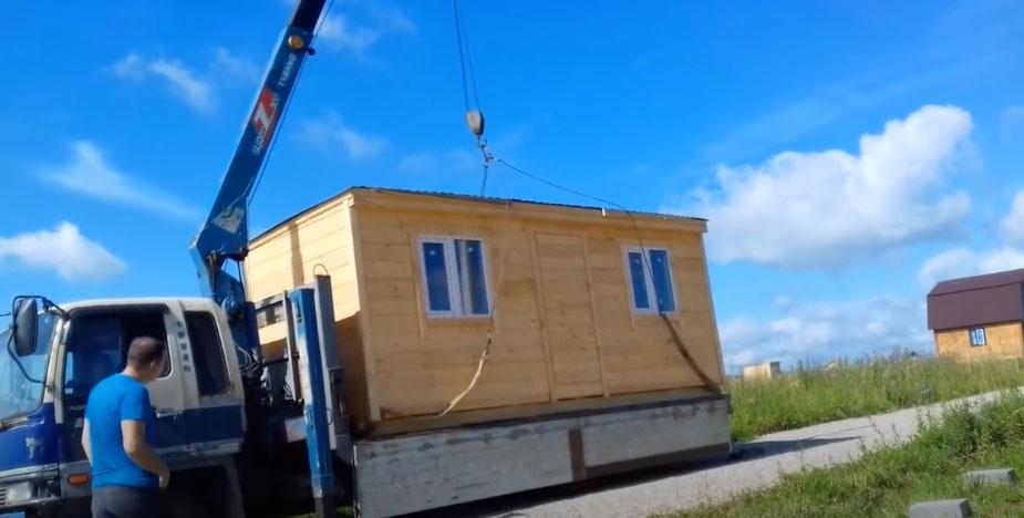 Преимущества деревянных бытовок